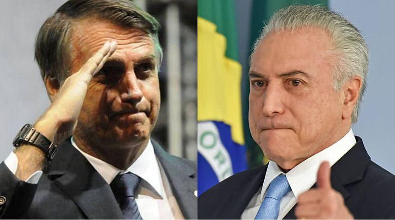 Jair Bolsonaro é a continuidade do Temer