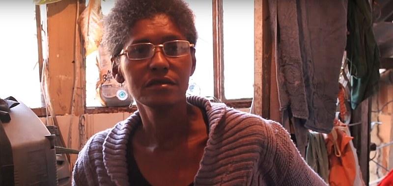 Adriana, mãe de Rafael, que dá depoimento no vídeo da campanha