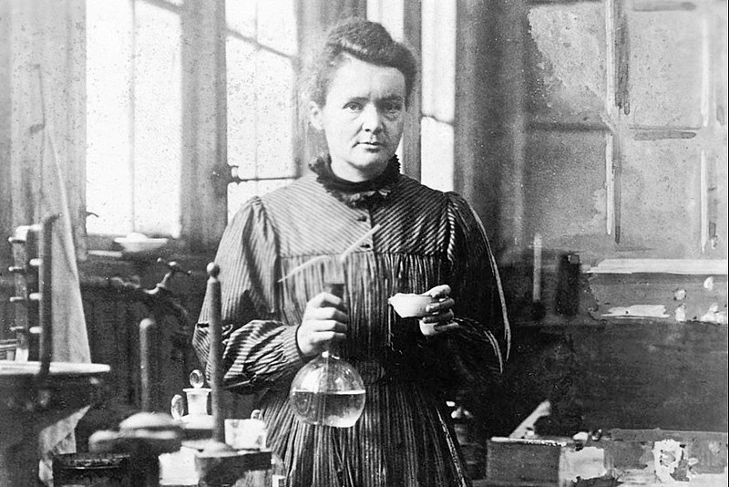 Marie Curie foi a primeira cientista a ganhar o Prêmio Nobel