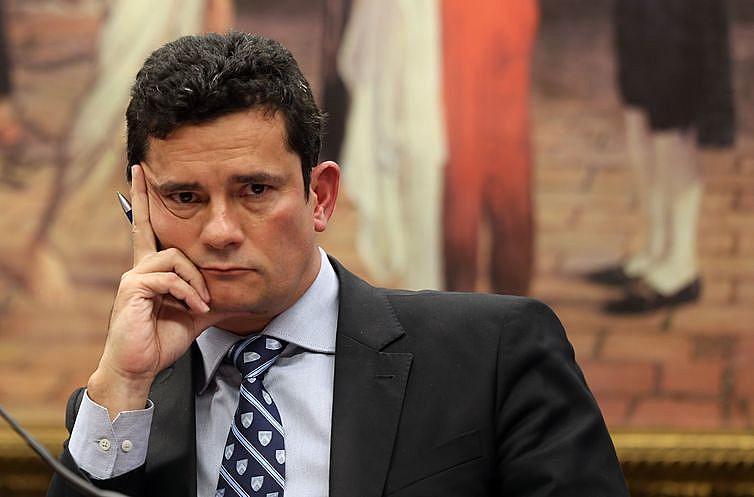 Sérgio Moro, ministro da Justiça e ex-juiz federal