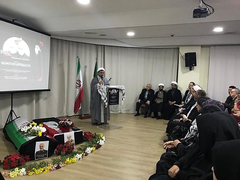 """Sheik Rodrigo Jalloul defendeu a posição iraniana de não atacar, mas se defender e """"honrar o sangue derramado"""""""