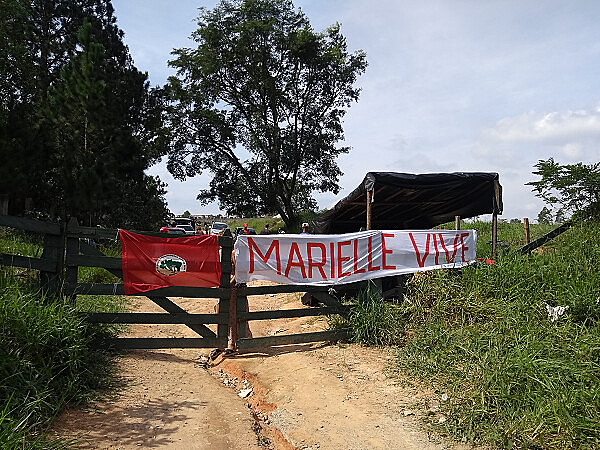 More than 1,000 families live in Marielle Vive Camp, in Valinhos, a one-hour drive out of São Paulo
