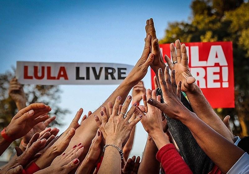 Há duas semanas,Lula também recebeu apoio de um grupo de juízes federais e desembargadores