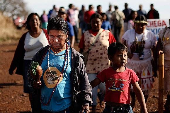 Tiroteio deixou ainda dez feridos, inclusiveuma criança, segundo relatos de indígenas