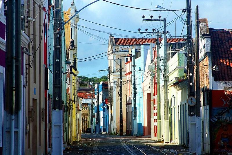 Rua Chile foi um dos principais pontos de expansão do bairro, com a construção de vários prédios