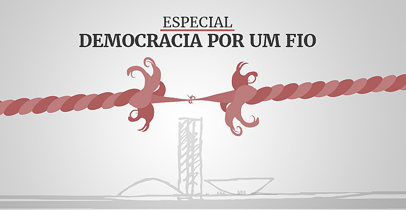 Transmissão faz parte do especial Democracia por um Fio que acompanha etapa final do processo de impeachment