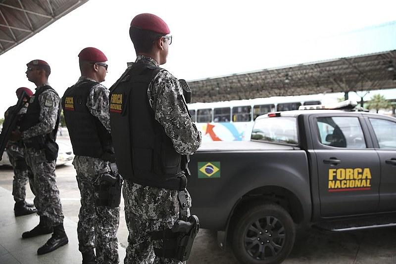 Força Nacional é empregada a pedido de governadores estaduais e em caso de necessidade de  reforço da segurança local