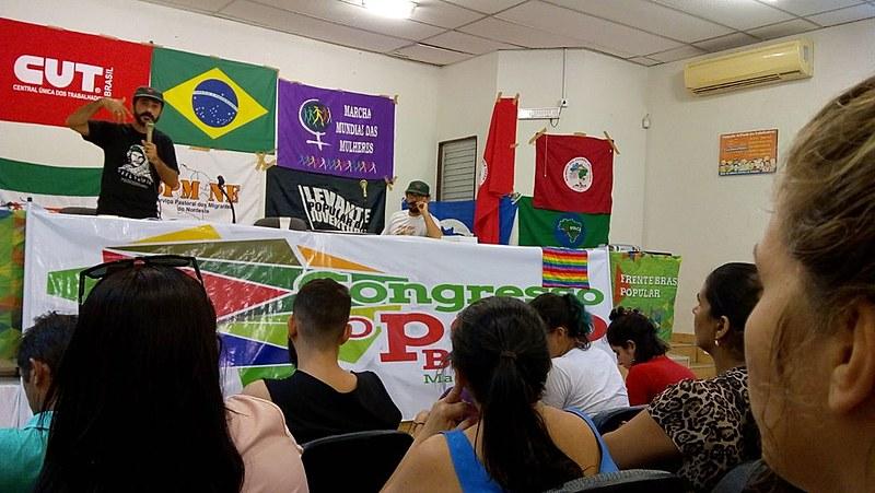 Durante o seminário, os participantes enfrentaram diferentes temas relacionados aos desafios do trabalho de base