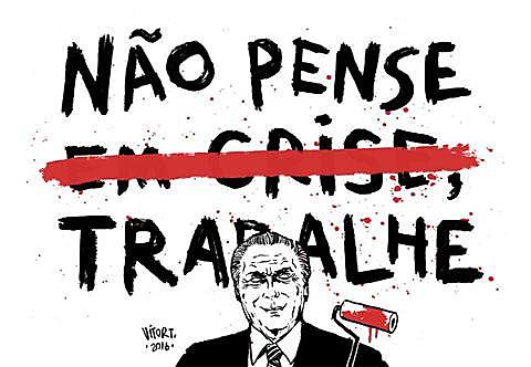 A saída real só virá das mãos e da criatividade do povo brasileiro, se ele assumir o dever de construir um projeto de país soberano, popular e democrático até a raiz