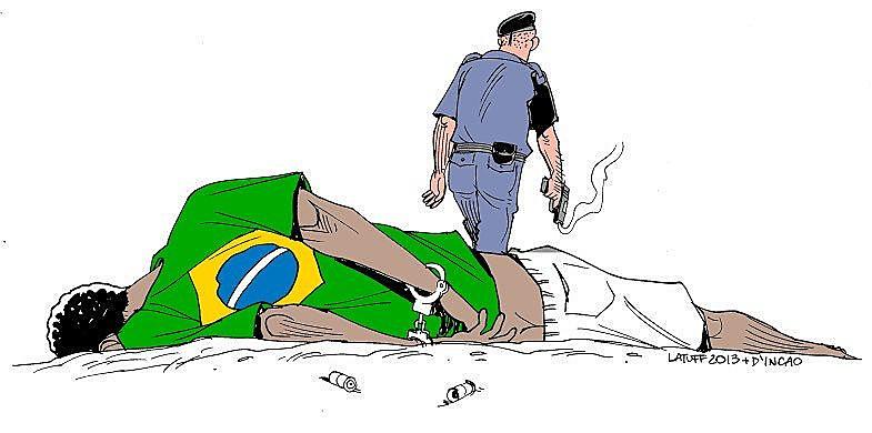 Obra vandalizada por deputado do PSL na véspera do Dia da Consciência Negra