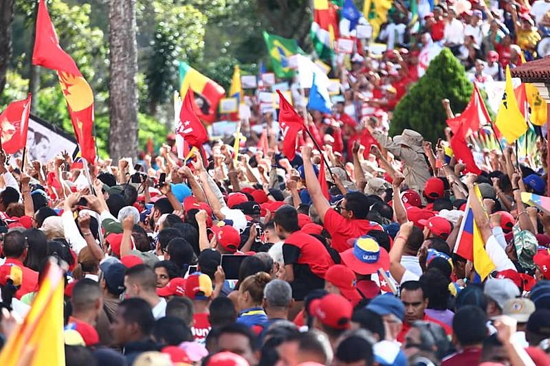 O chavismo tem uma característica: seu nível de organização e politização