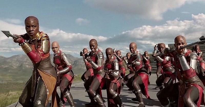 Mulheres no filme Pantera Negra, da Marvel