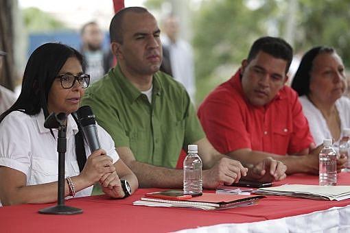 No domingo (27), a presidentada Assembleia Nacional Constituinte, Delcy Rodríguez, comentou as primeiras audiências da Comissão da Verdade