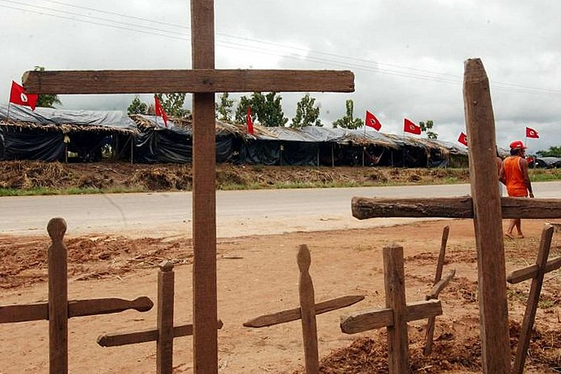 Segundo ONG, onda de violência é impulsionada por uma intensa disputa pela terra e recursos naturais