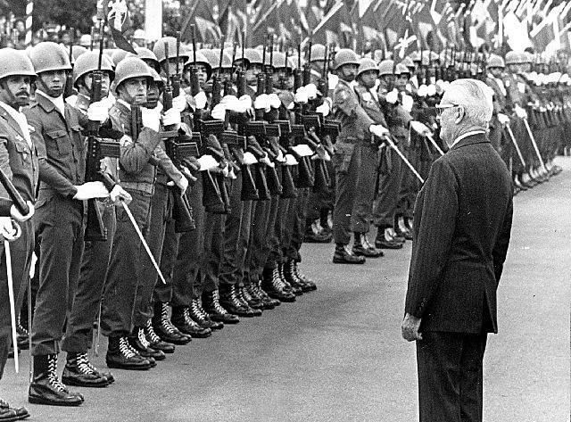 Ex-presidente Geisel governou o Brasil de 1974 a 1979