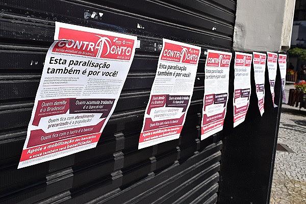 No dia 24 de abril, umaação foi realizada em 22 agências do Paraná com o objetivo de informara população sobre negligências