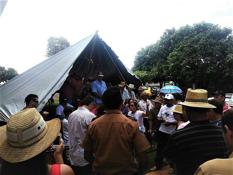 As obras da UHE do Baixo Iguaçu estão localizadas na divisa entre Capanema e Capitão Leônidas Marques