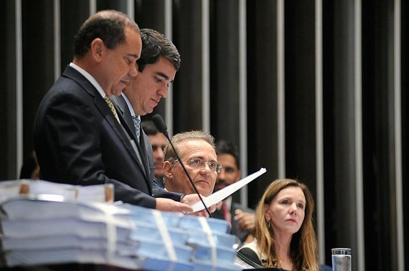 Renan fez um apelo para que os líderes partidários entreguem os nomes o mais rápido possível e não cheguem no prazo, ele mesmo preencherá as vagas restantes