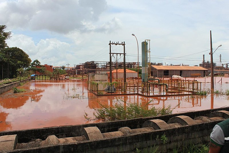 O Ministério Público Federal, Estadual e Defensoria Pública do Pará solicitam o embargo da bacia de rejeitos da empresa Hydro