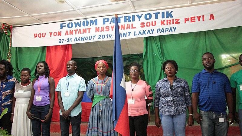 Fórum Patriótico do Haiti reuniu mais de 250 participantes na Escola de Formação de Quadros Camponeses do Movimento Camponês de Papay