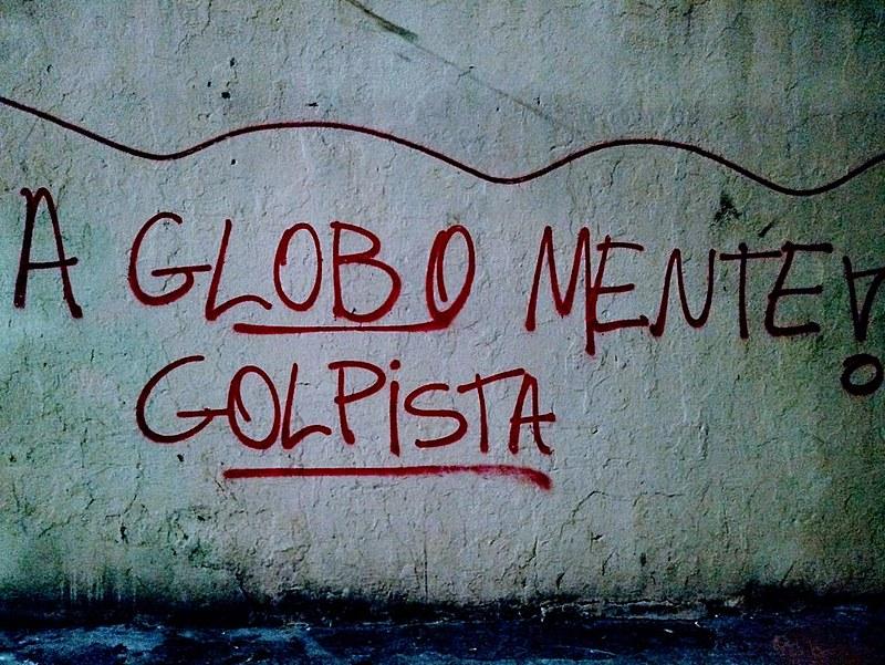 A manobra da mídia para consolidar o golpe de 2016 e tirar Lula das eleições 2018 é um dos alvos dos protestos