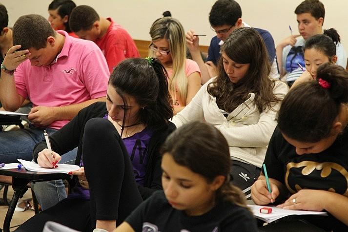 O índice de ausência foi cinco pontos percentuais maior do que no dia primeiro dia de prova