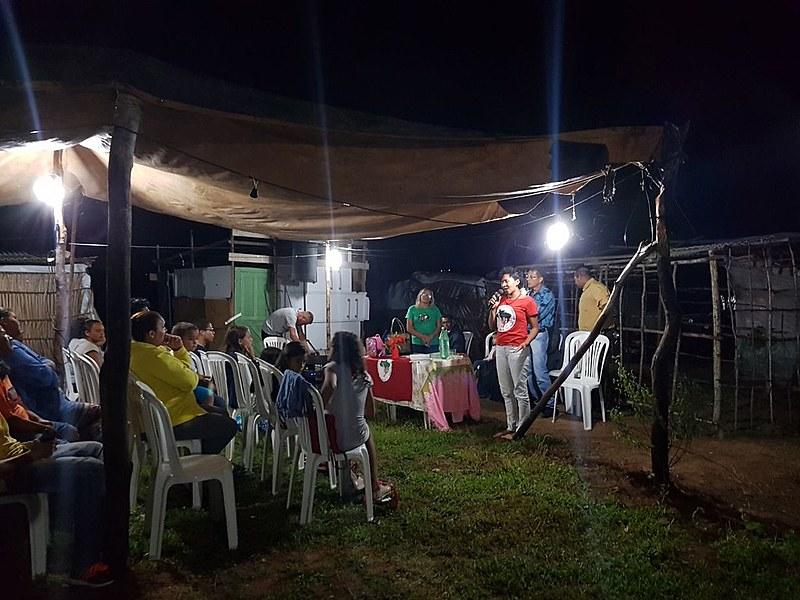 O ataque aconteceu no Acampamento Independência Camponesa