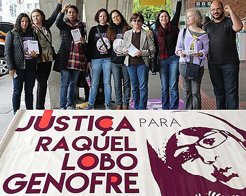 Protesto por justiça no caso Rachel Genofre, assassinada há nove anos