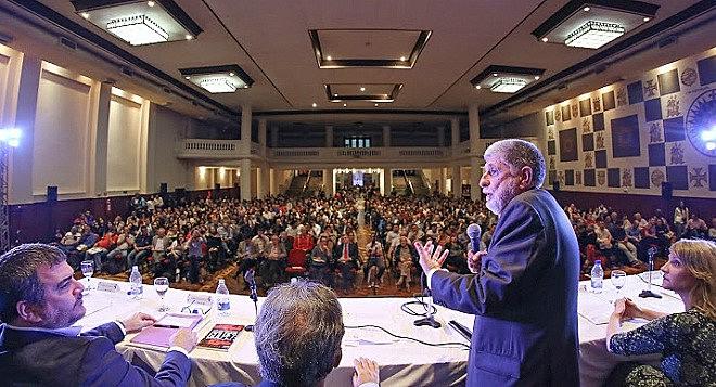 O ex-ministro Celso Amorim: 'Mercosul não nasceu para dar ganhos comerciais a quem quer que seja'