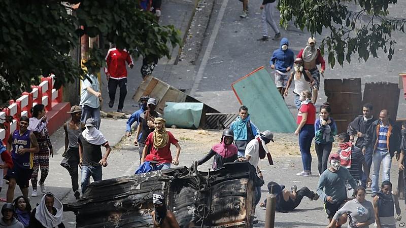 Protestos mais violentos foram realizados entre 21 e 23 de janeiro