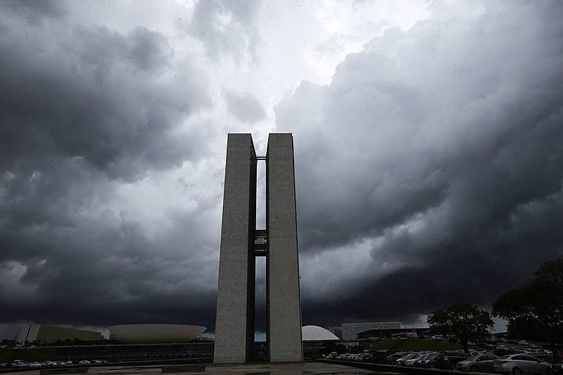 No dia seguinte, a chuva havia chegado a Formosa, na divisa com o Distrito Federal
