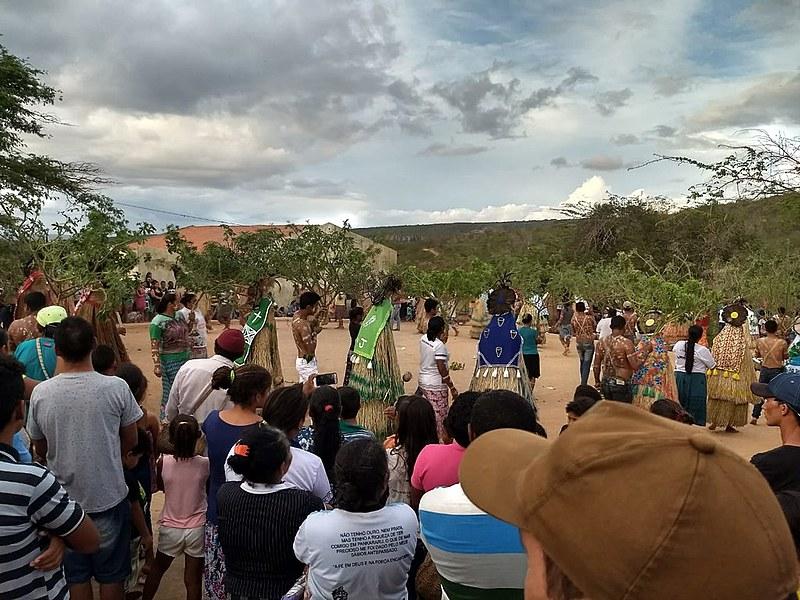 Os Pankararus esperam há mais de 90 anos a regularização do território