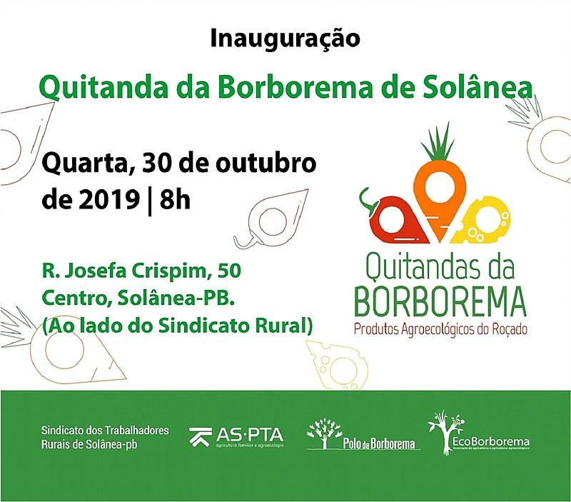 A rede das Quitandas da Borborema contará pontos fixos em Arara, Esperança, Queimadas, Remígio, Solânea, Campina Grande e Esperança