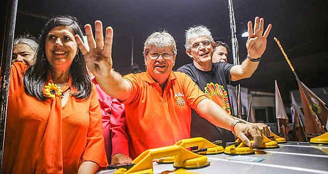 A Paraíba elegeu seu governador no primeiro turno das eleições, o que demonstrou a força do PSB e do atual governador Ricardo Coutinho.