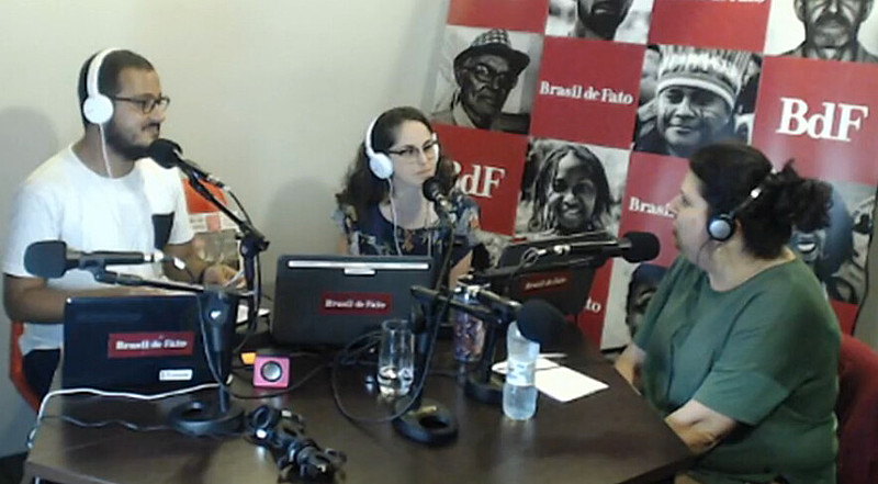 Rádio recebeu entre especialistas e representantes de movimentos, a advogada especialista no tema da Previdência, Tonia Galetti.