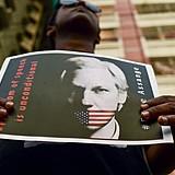 Julian Assange é julgado em Londres