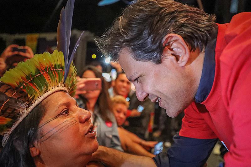 Candidato a vice na chapa do PT, Fernando Haddad tem rodado o país em campanha