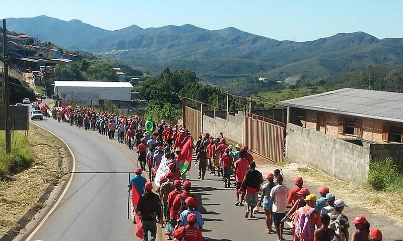 Marcha terá como primeira parada a cidade de Mariana, vizinha a Ouro Preto