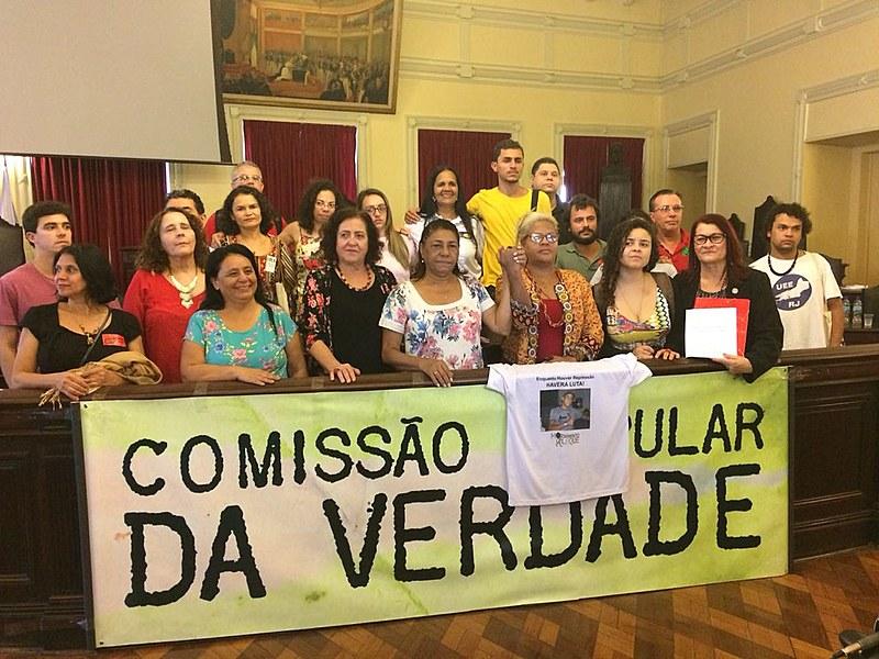 Movimentos populares e mães de vítimas da violência do estado participaram da coletiva de impressa em que os dados foram divulgados