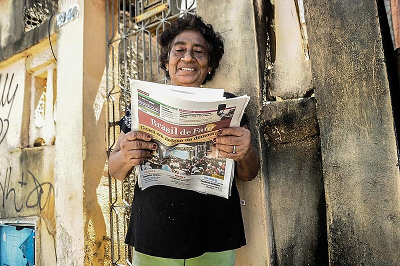 Brasil de Fato é um sistema de comunicação que tem como objetivo ser um instrumento de luta dos trabalhadores