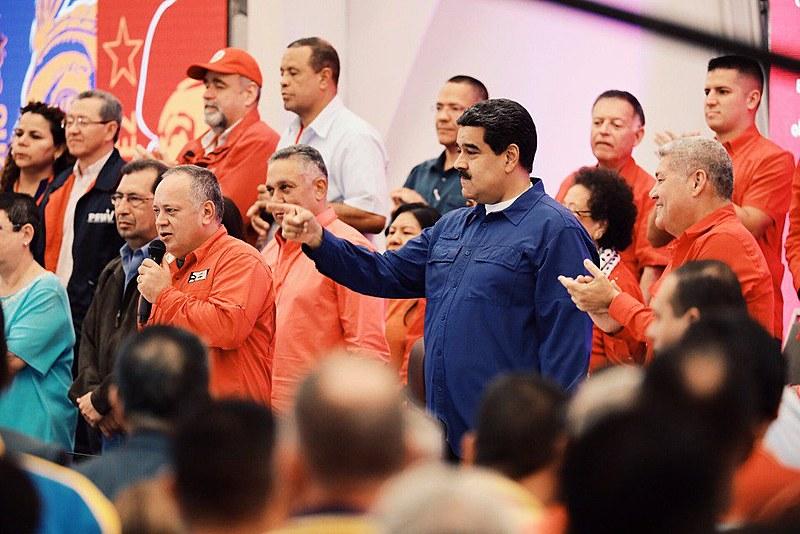 Na ocasião, Maduro foi reconduzido à presidência do PSUV