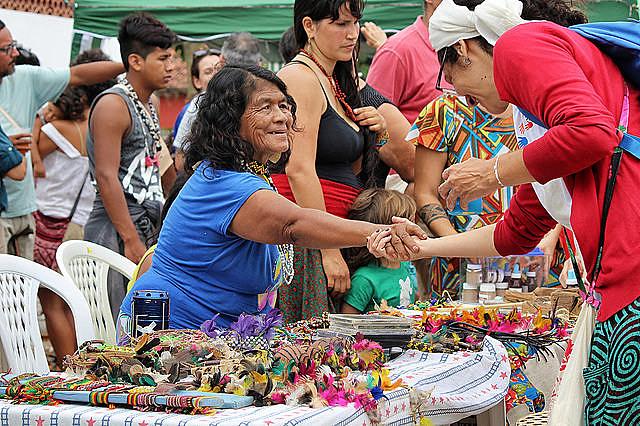 O Encontro Estadual de Agroecologia ocorreu no Quilombo do Campinho, em Paraty (RJ)