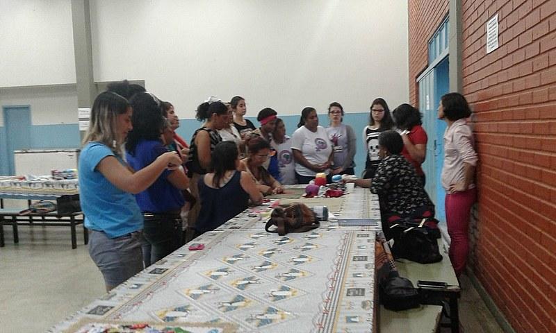 O encontro foi a primeira experiência de formação exclusiva para mulheres realizada na região