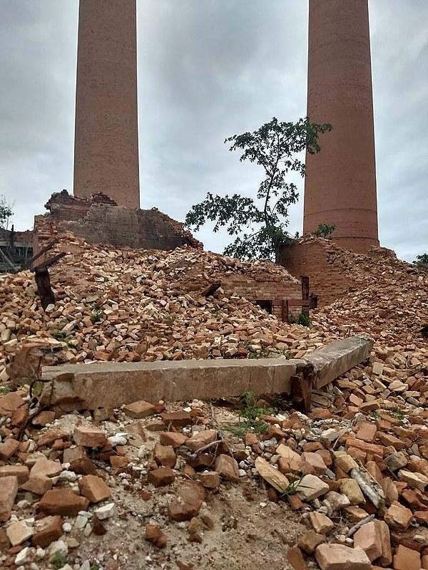 Antigos fornos da Usina de Cambahyba viraram escombros; MPF investiga o caso sob sigilo