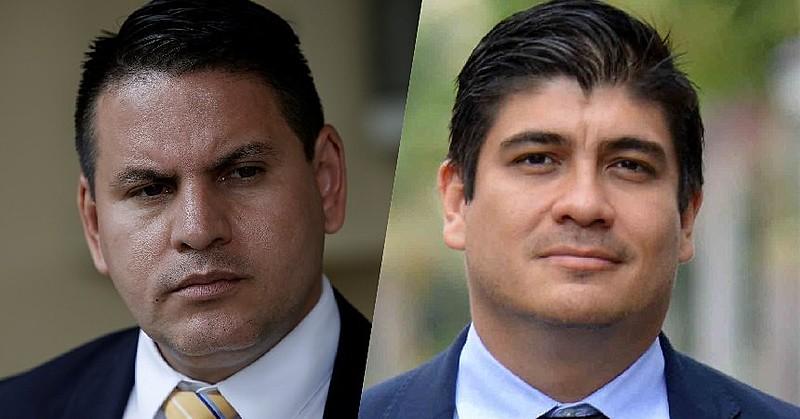 Fabricio Alvarado Muñoz e Carlos Alvarado disputam a presidência do país; ambos são candidatos por partidos fundados a menos de 20 anos