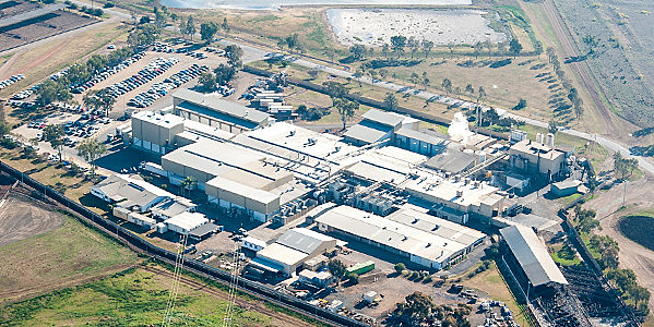 Planta da empresa JBS na Austrália