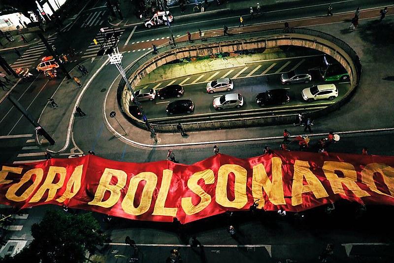 Em São Paulo, cerca de 5 mil manifestantes foram à Avenida Paulista protestar
