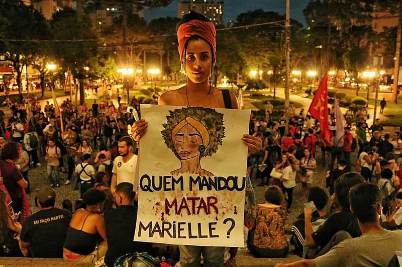 Além de resgatar a memória de Marielle, ato denunciou genocídio contra população preta e periférica