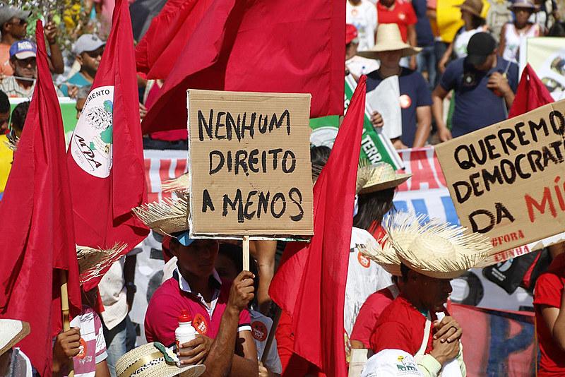 Camponesas do MPA em todo país convocam trancamento de rodovias e jejum público durante a primeira semana de dezembro deste ano