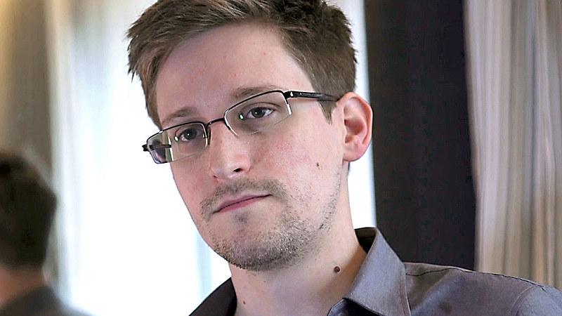 O ex-agente da CIA, Edward Snowden